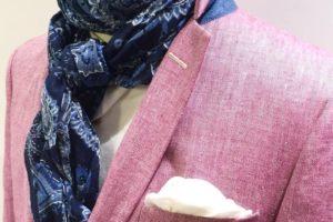 pink veste