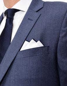 Costume Bleu Piqué 3